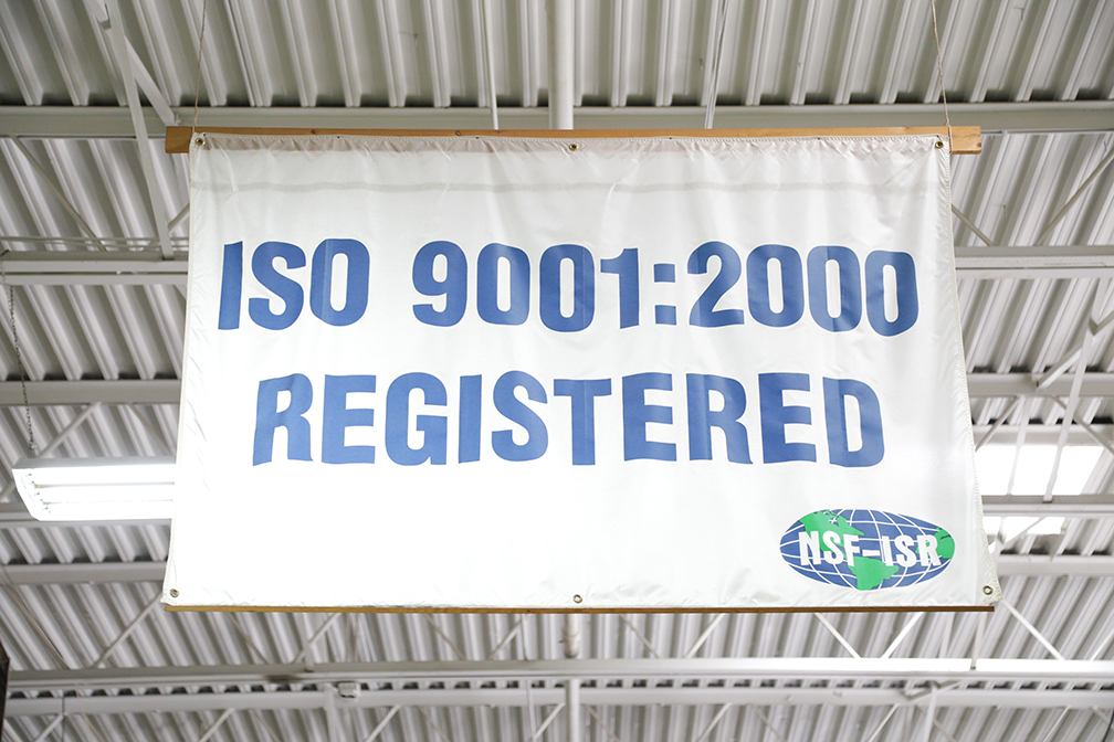 AJAX is iso-9001:2000 Registered